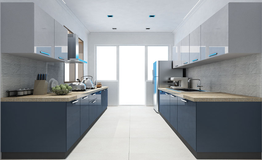 Parallel Modular Kitchen Designs In Pune Grace Modular Kitchen